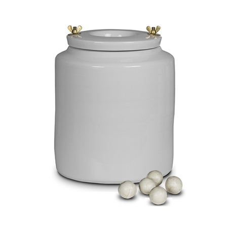 Porcelain container 5l - for ball mill with bodies