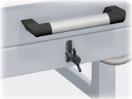Poloautomatická přivzdušnovací klapka - komorová pec Nabertherm