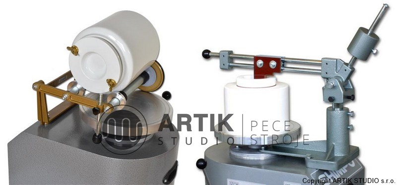 Jigger arm and ball mill rack for pottery wheel Nidec-Shimpo RK-3D