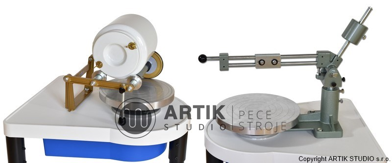 Jigger arm and ball mill rack for pottery wheel Nidec-ShimpoRK-3E