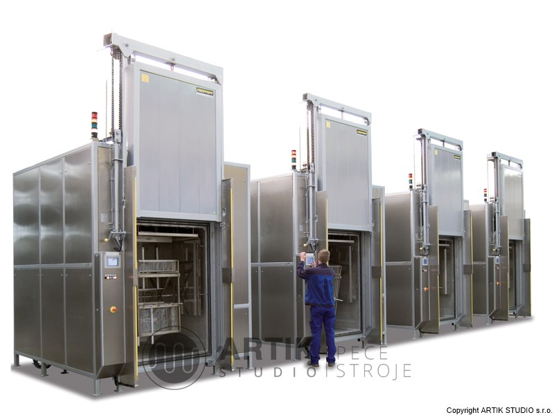 Industrial furnaces - tempering furnaces