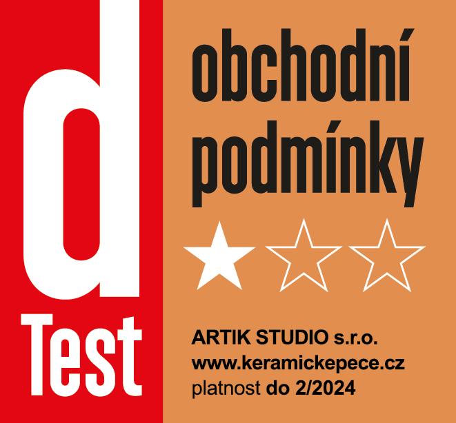 Obchodní podmínky dTest - ARTIK STUDIO s.r.o., e-shop: KeramickePece.cz